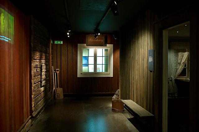 Museets utställning Världsarvstaden