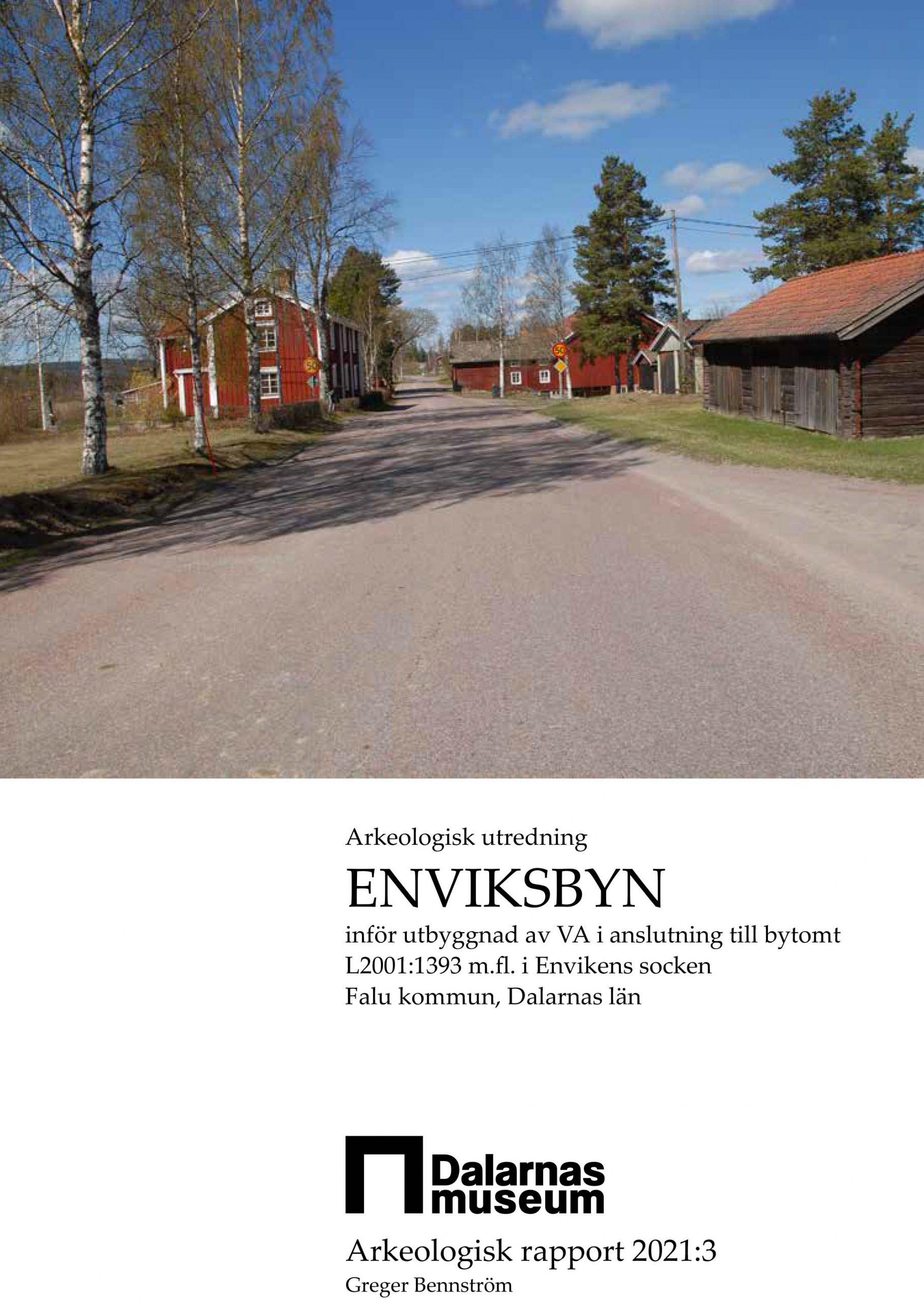 Arkeologiskrapport_Enviksbyn