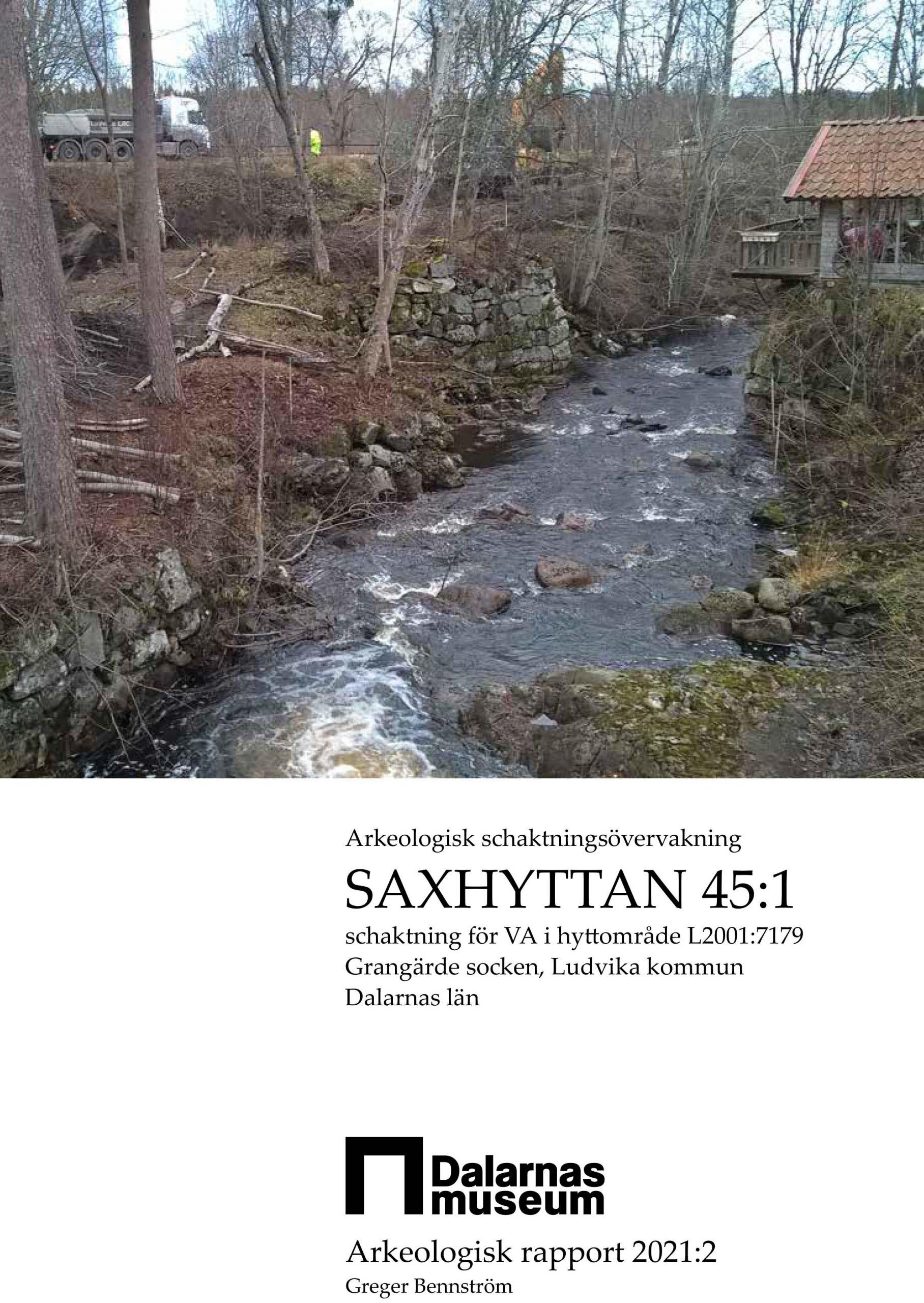 Arkeologiskrapport_Saxhyttan